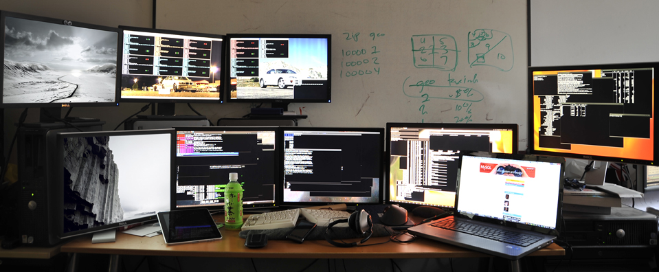 Home Stock Trading Setup